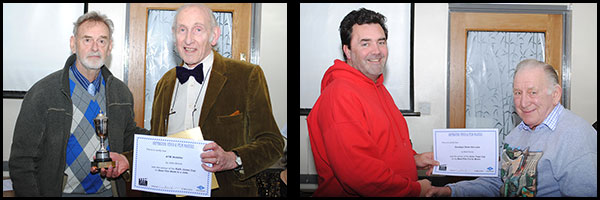Winners: John Bunce/Basil Doody