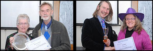 Winners: Barbara Darby/Simon Earwicker