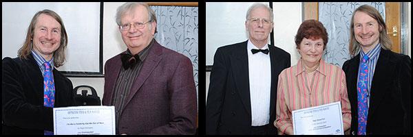 Winners: Hugh Darrington/Ann & John Epton