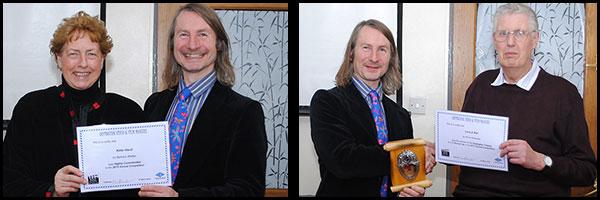 Winners: Barbara Walker/Simon Earwicker