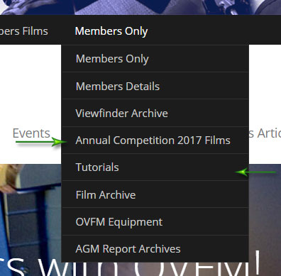 OVFM and VIMEO | Orpington Video and Film Makers